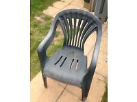 2 spare garden chairs
