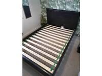 Black Bed Frame and headboard