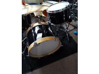 Prmier/gretsch vintage shell pack and other drums