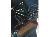 Mountain bike 18inch frame