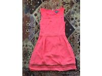 Coral / Orange Dress Size 10