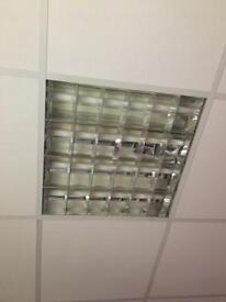 Suspended ceiling lights