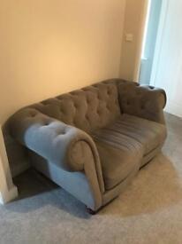 2 x 2 seat sofas