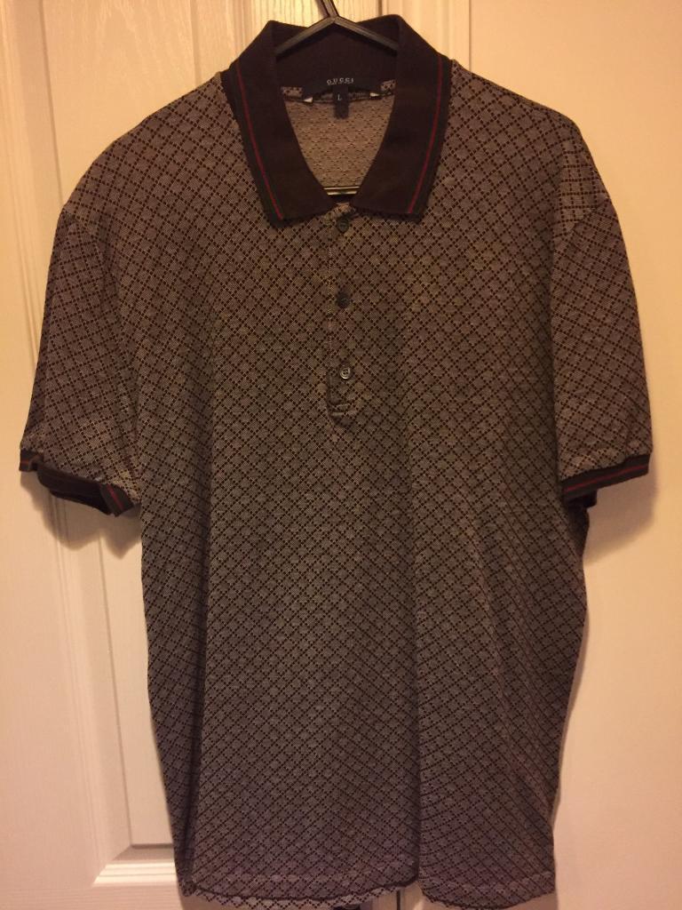 fdda3317760 Brown Gucci Polo-shirt