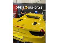 Car Window Tinting Specialist from £59. Open Sundays Dash Camera, reverse camera, parking sensor.