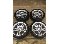 """Mercedes Amg sport Alloy Wheels 18"""""""