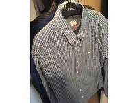 5 x Men's Next shirts --size Large