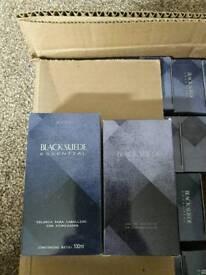 Black suede essential edt