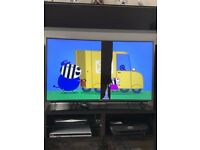PANASONIC 55CR730B Curved 55 Inch TV, Screen broken but working fine. £120