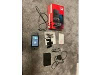 Nintendo switch grey (improved battery) with screen protector + Lan adapter
