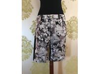 ladies rohnisch bloom bermuda capri trousers, size 12, brand new