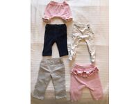 Baby girl trousers (0-3 months)