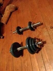 Hand Dumbbell weights pair