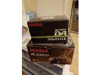 Pentax Digital Camera and Lense