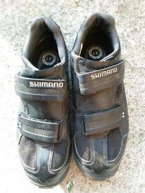 Shimano Cycling Shoes, Size 7 (41), SPD compatible, mountain biking MO65