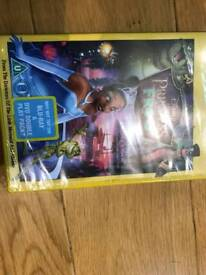 Disney Princess and the Frog dvd movie