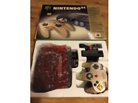 Nintendo 64 Console gold Limited Edition