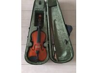 Violin - Child's starter 5-8 years 1/4 size