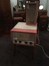 Vintage dansette record poayer