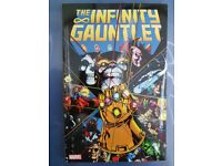 The Infinity Gauntlet Marvel book - Starlin-Perez-Lim