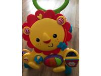 Fisher price lion musical walker