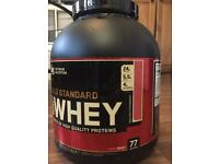 Gold standard whey 2.27kg Various flavours, BBE 2019