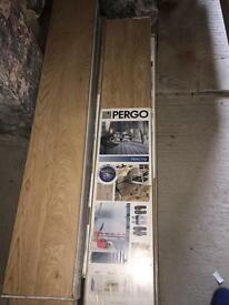 Pergo Laminate flooring packs 9 packs