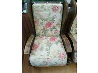 Conservatory Furniture 3 Piece Suite - Vintage
