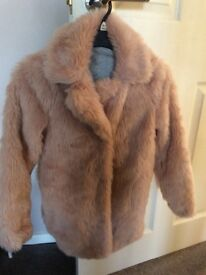Lovely faux fur coat