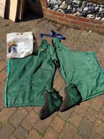 STIHL Chainsaw Trousers And Boot Covers