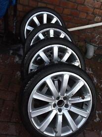 5x100 Vw seat audi skoda alloy wheels ( px )