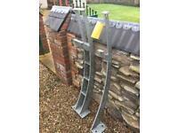 Balustrades Metal posts garden fencing