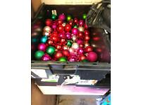 Christmas baubles bundle Christmas decs
