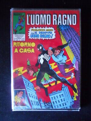 L' UOMO RAGNO n°39 1989 Apparizione Costume Nero Marvel Italia [G870]