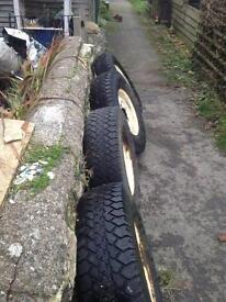 235/85/16 enduros runway tyres and rims wheels set of 4