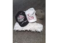 Selection of Womens Caps - Ed Hardy, Von Dutch & Gucci