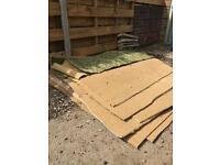 Used carpet squares