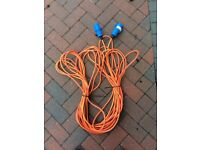 Caravan/Motorhome Electric Hook up Cables