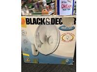 Black & Decker Wall Fan