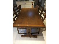 0ld-Charm-extending-dining-room-table-and-8-chairs