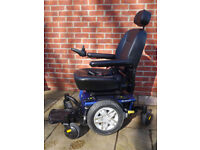 Pride Jazzy 600 ES powerchair electric wheelchair - can be attendant controlled