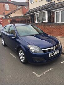 Vauxhall Astra, Hatchback, Petrol, Blue, Manual