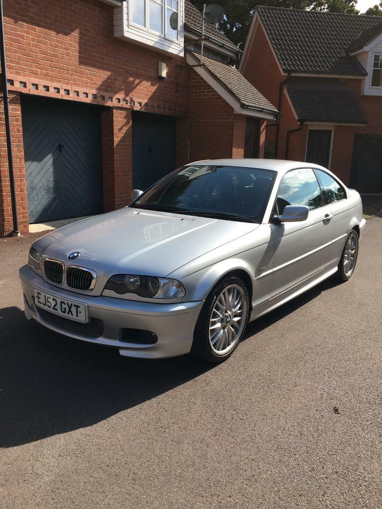 2002 bmw 318ci se m sport silver e46 3 series coupe in. Black Bedroom Furniture Sets. Home Design Ideas