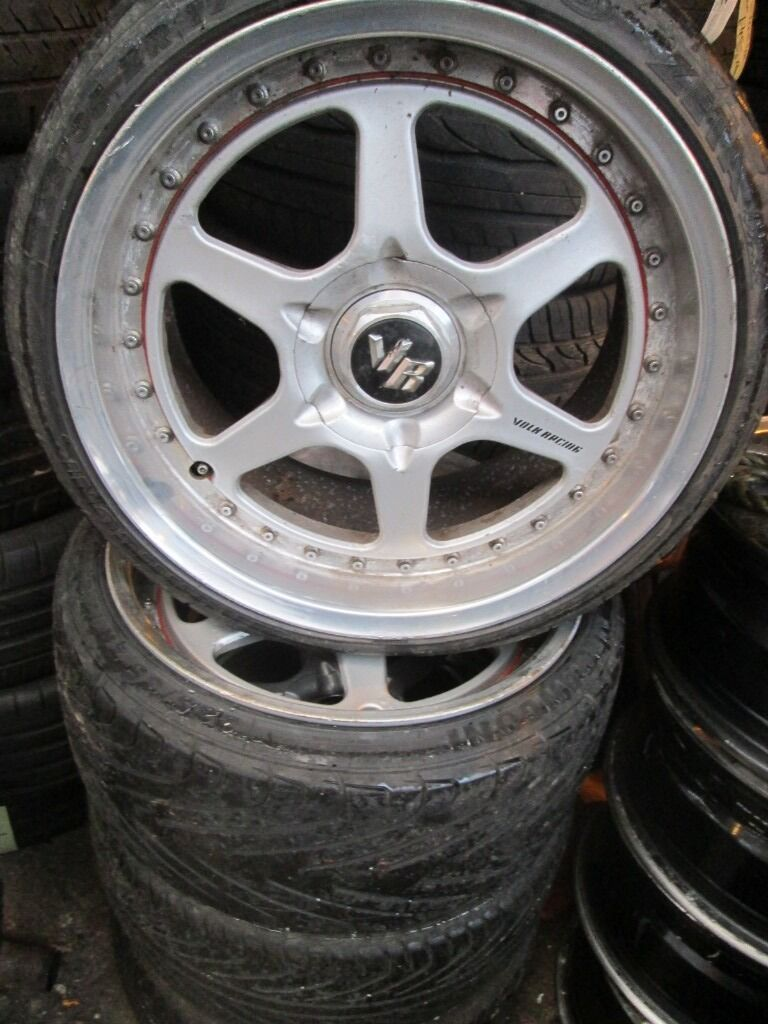 "17"" VOLK RACING SPLIT RIMS - AUDI / VOLKSWAGEN"