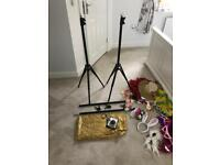 Selfie station/photo booth home made - for weddings or parties