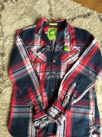 Superdry Checked shirt size Medium