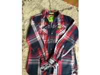 Superdry Checked shirt size Medium