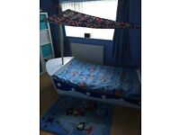 Pirate ship shaped bed and pirate bundle