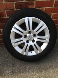 09 Reg Astra Alloy Wheels with 205-55-16 Tyre