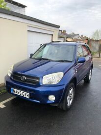 TOYOTA RAV4 BLUE *SERVICE HISTORY*LOW MILEAGE*